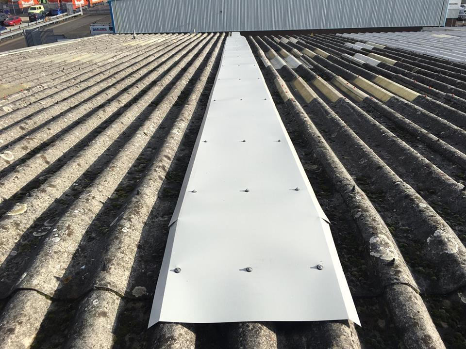 Industrial Roof Repair in Basingstoke, Hampshire 1