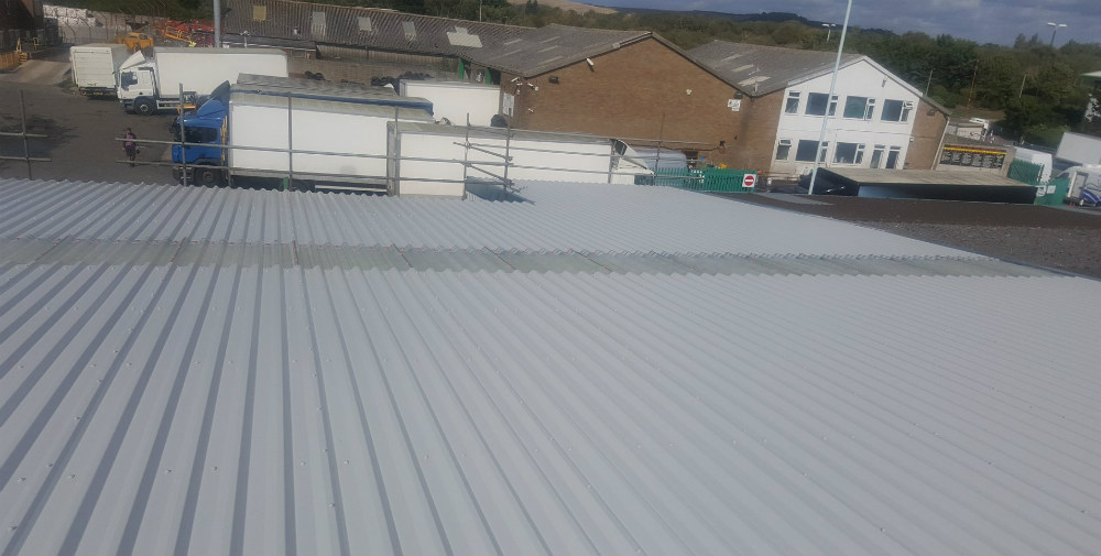 Over Roofing to a Factory Warehouse Roof in Worthing, West Sussex 2