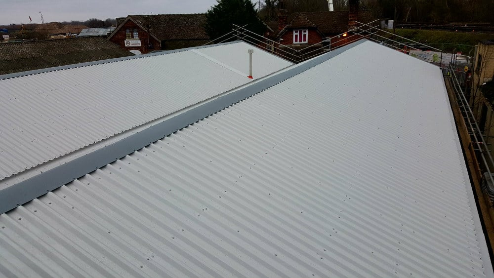 Over-Roofing-to-a-Workshop-Roof-in-Hersham-Surrey-1