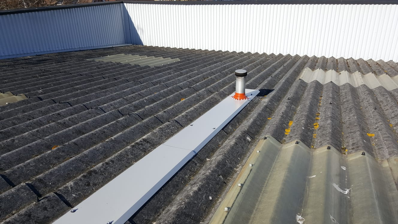 Roof Repairs to a Factory in Burgess Hill West Sussex 3