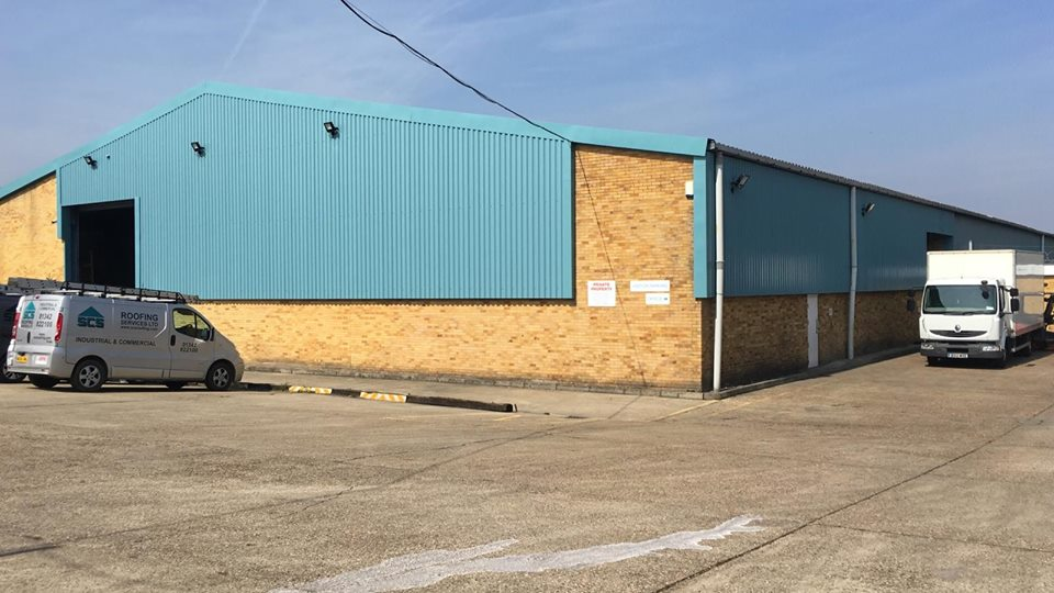 Vertical Cladding Contract in Larkfield Kent 1
