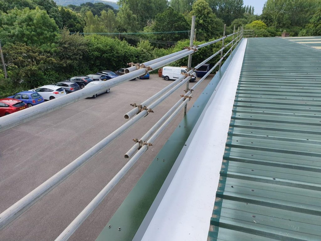 Guttering Contract to a Warehouse - Factory Roof in Washington, West Sussex 3