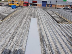 Commercial Roofing Contractors For Industrial Factory And