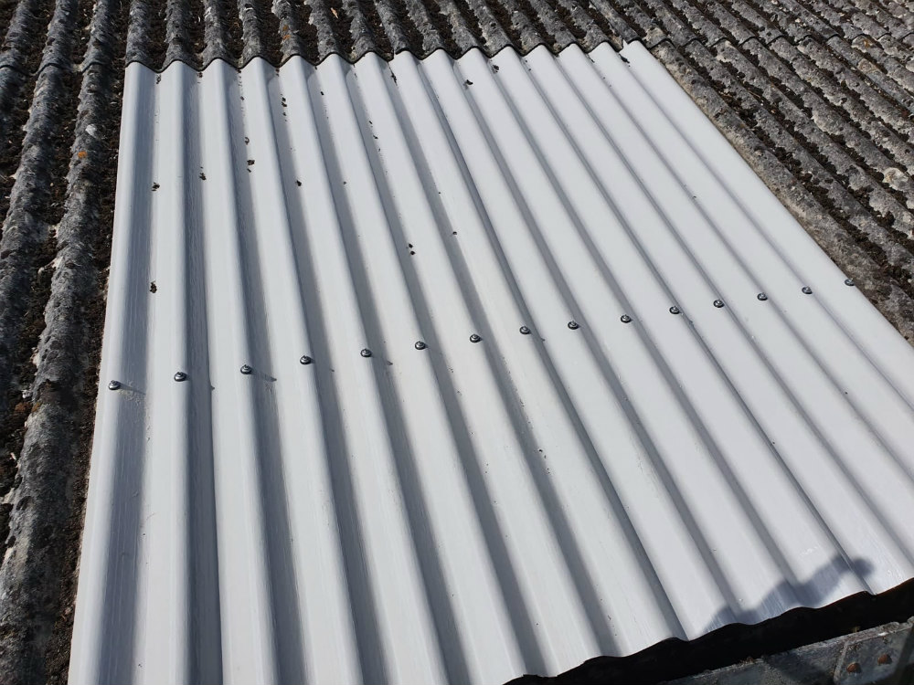 Damage Repair to a Warehouse Roof in Eastbourne East Sussex