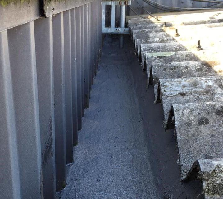 Roof Repair Work at a Factory in Swanley, Kent 4