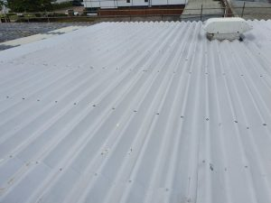 Roof Repairs Over Offices in Crawley West Sussex 1
