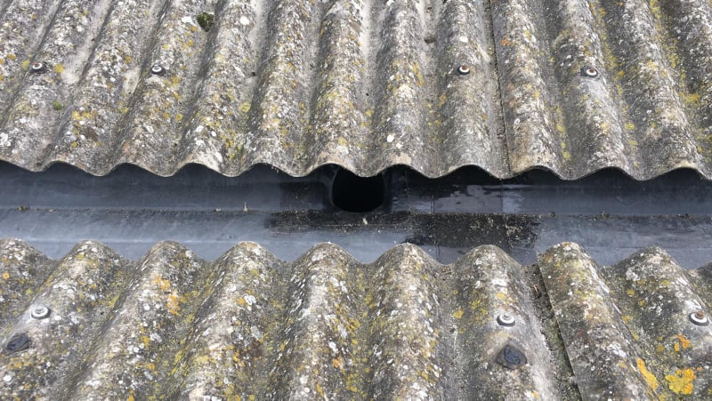 Repair to a Warehouse roof in Worthing, West Sussex