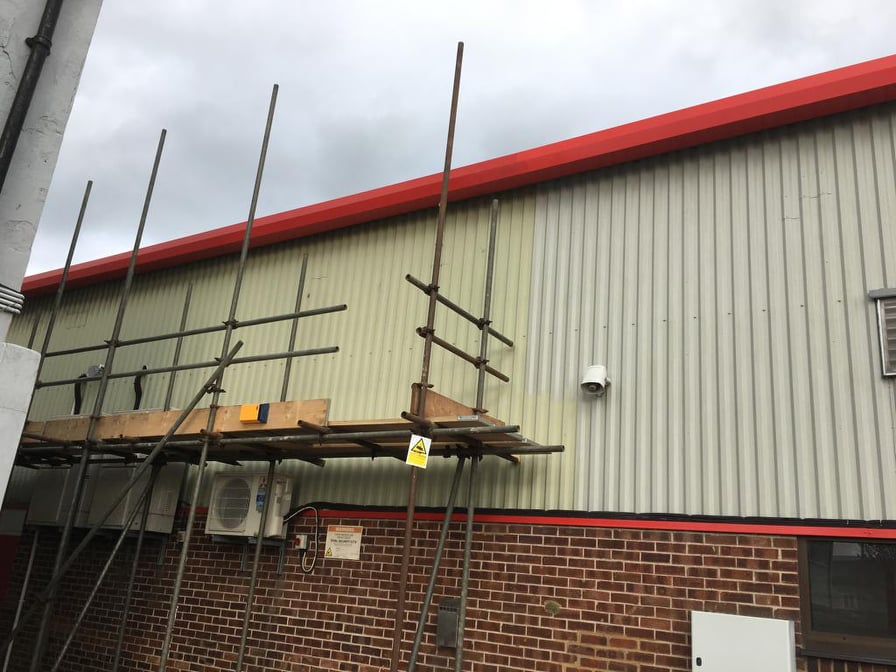 Commercial Office Unit Refurbishment in Crawley