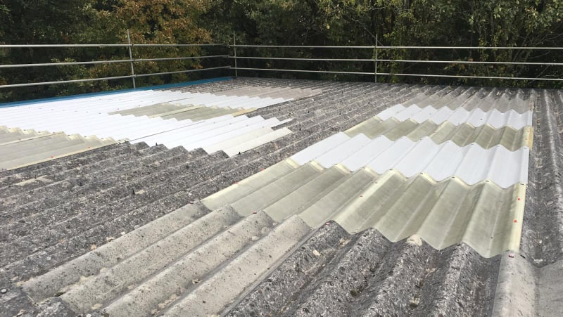 Office Roof Repair at a Car and Van Service Centre in Hedge End, Hampshire