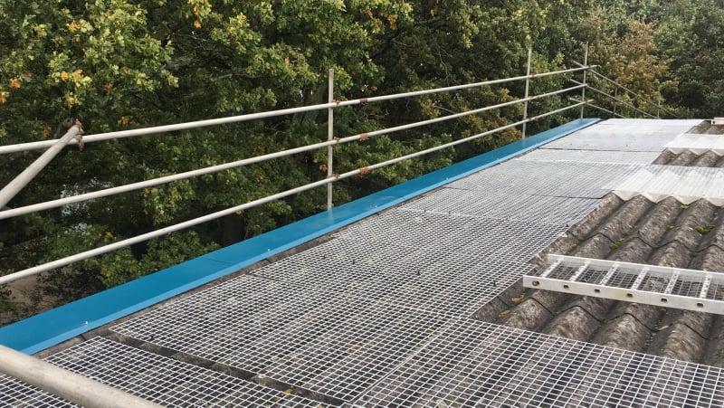 Roof Repair Work at a Car and Van Service Centre in Hedge End, Hampshire