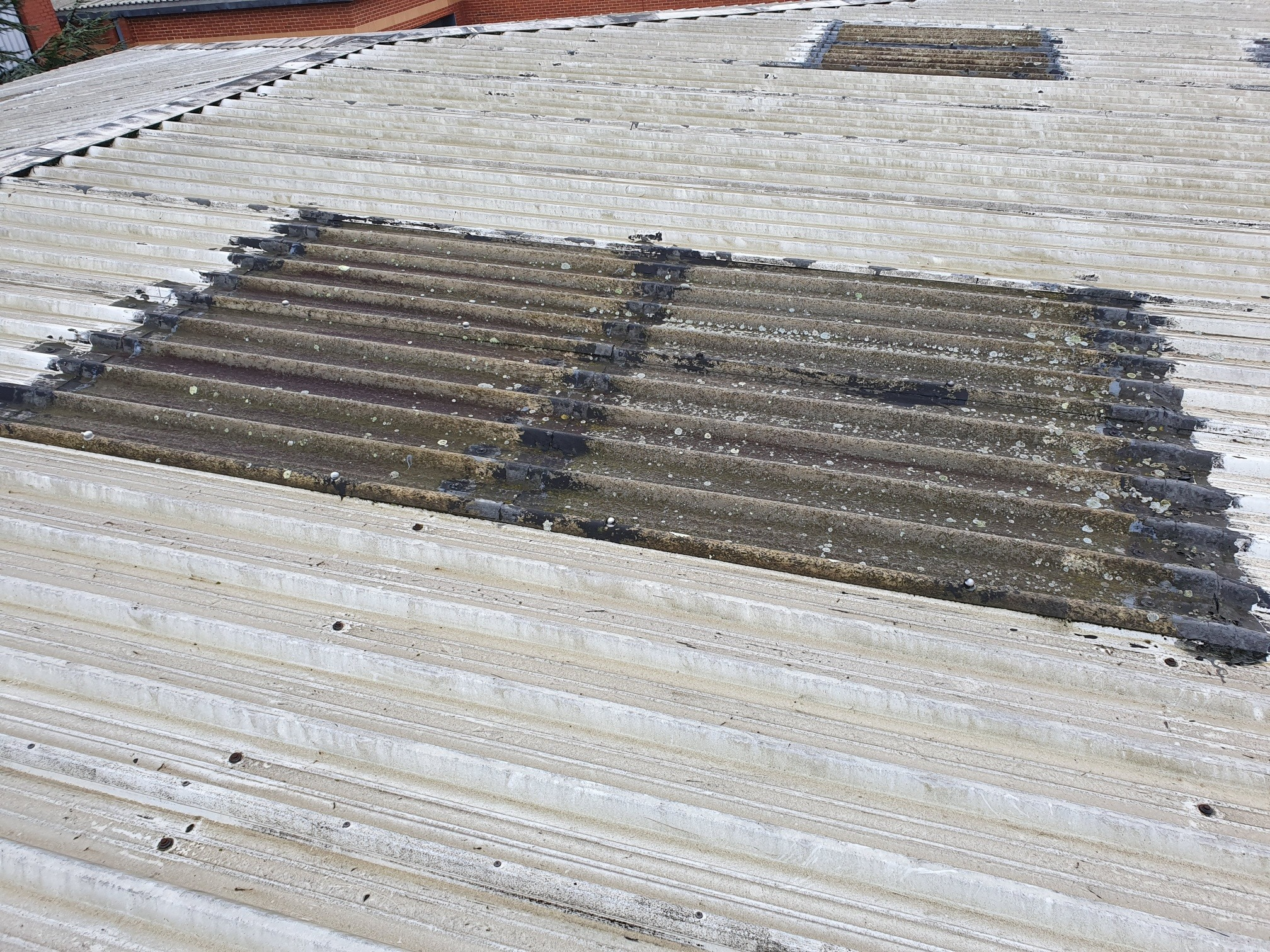 Office Warehouse Over Roofing in Camberley Surrey