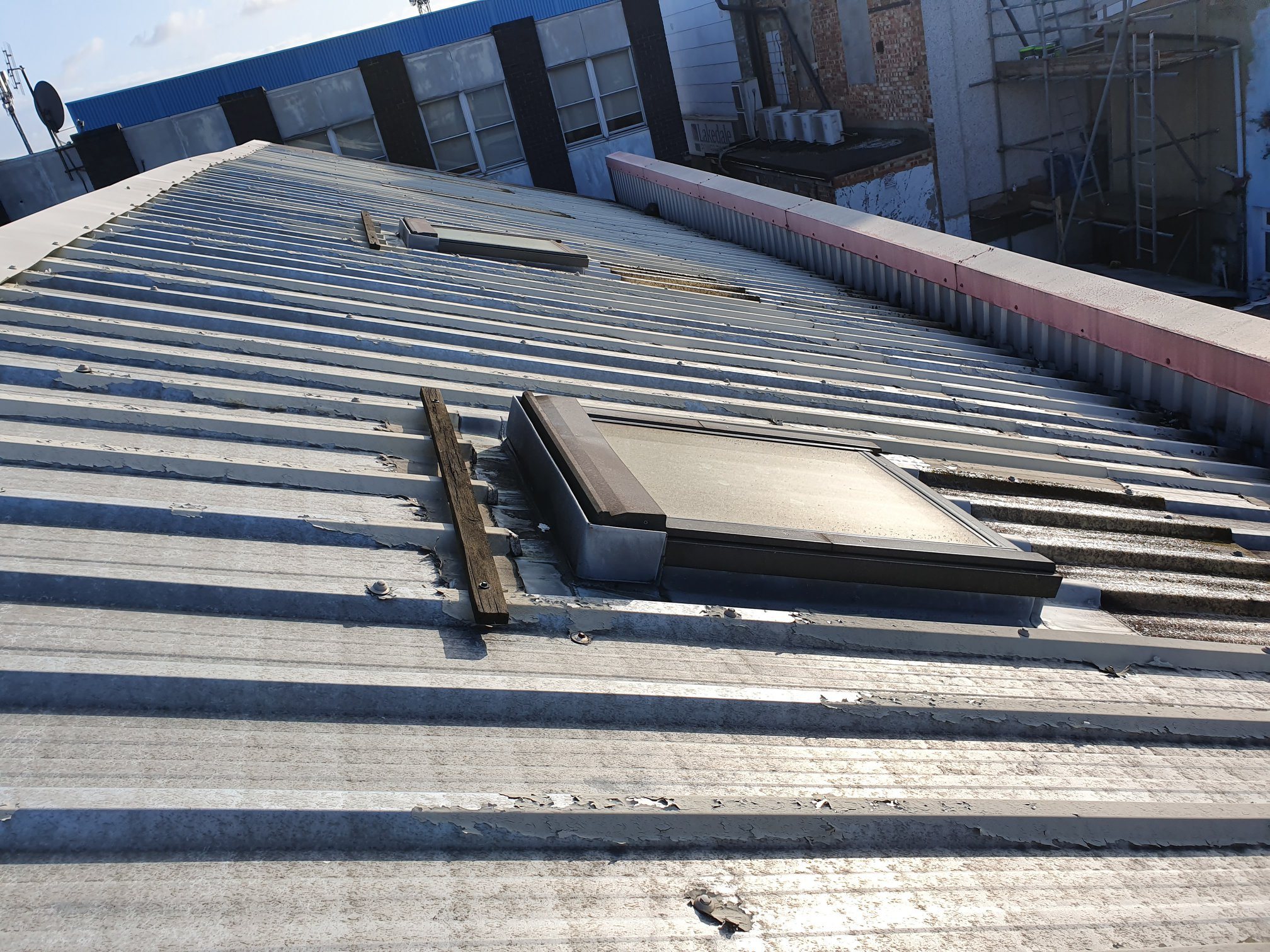 Commercial Rooflight Replacement for a Landlord in Croydon Surrey