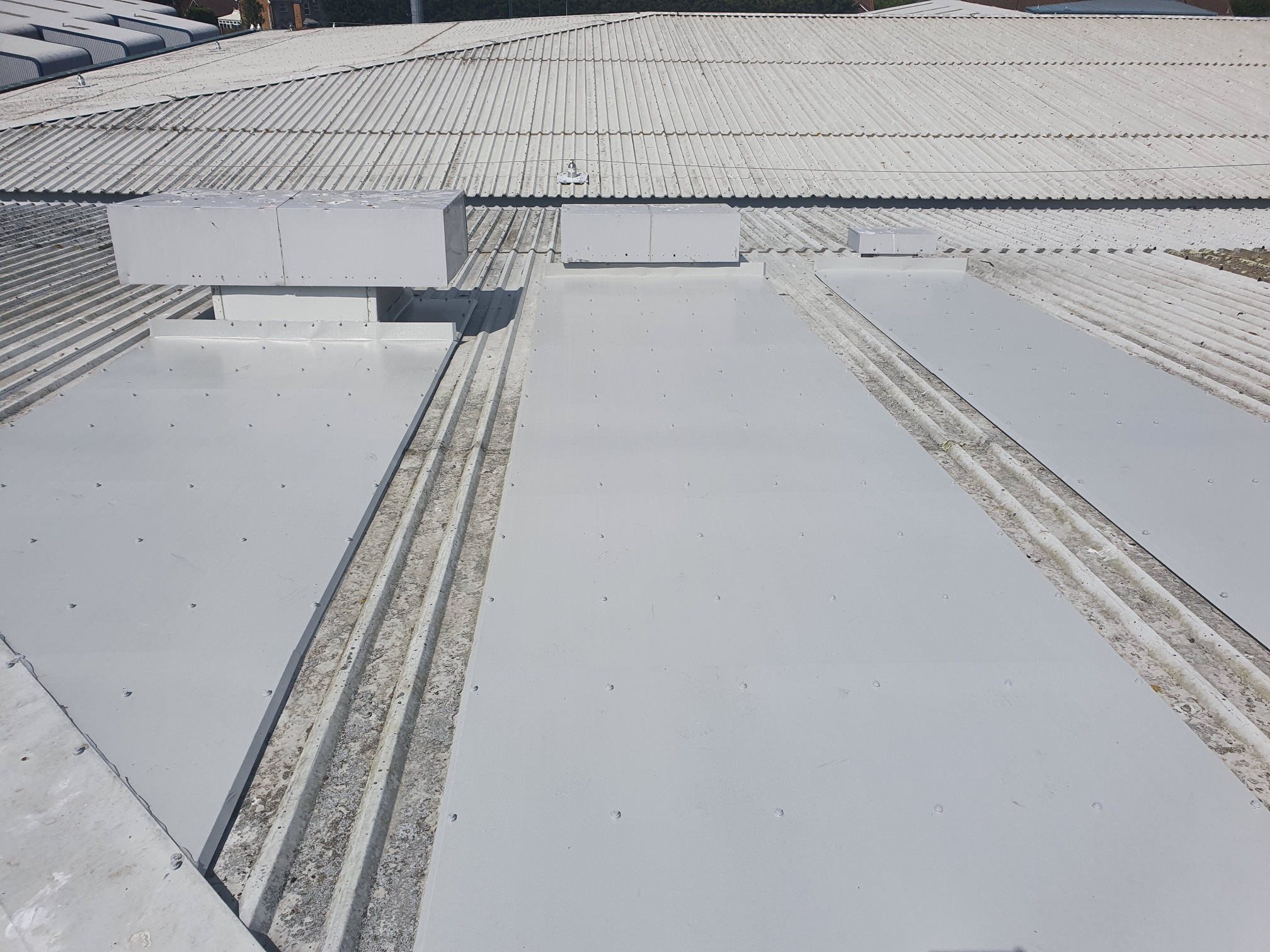 Roof Repairs to a Office Roof in Littlehampton, West Sussex
