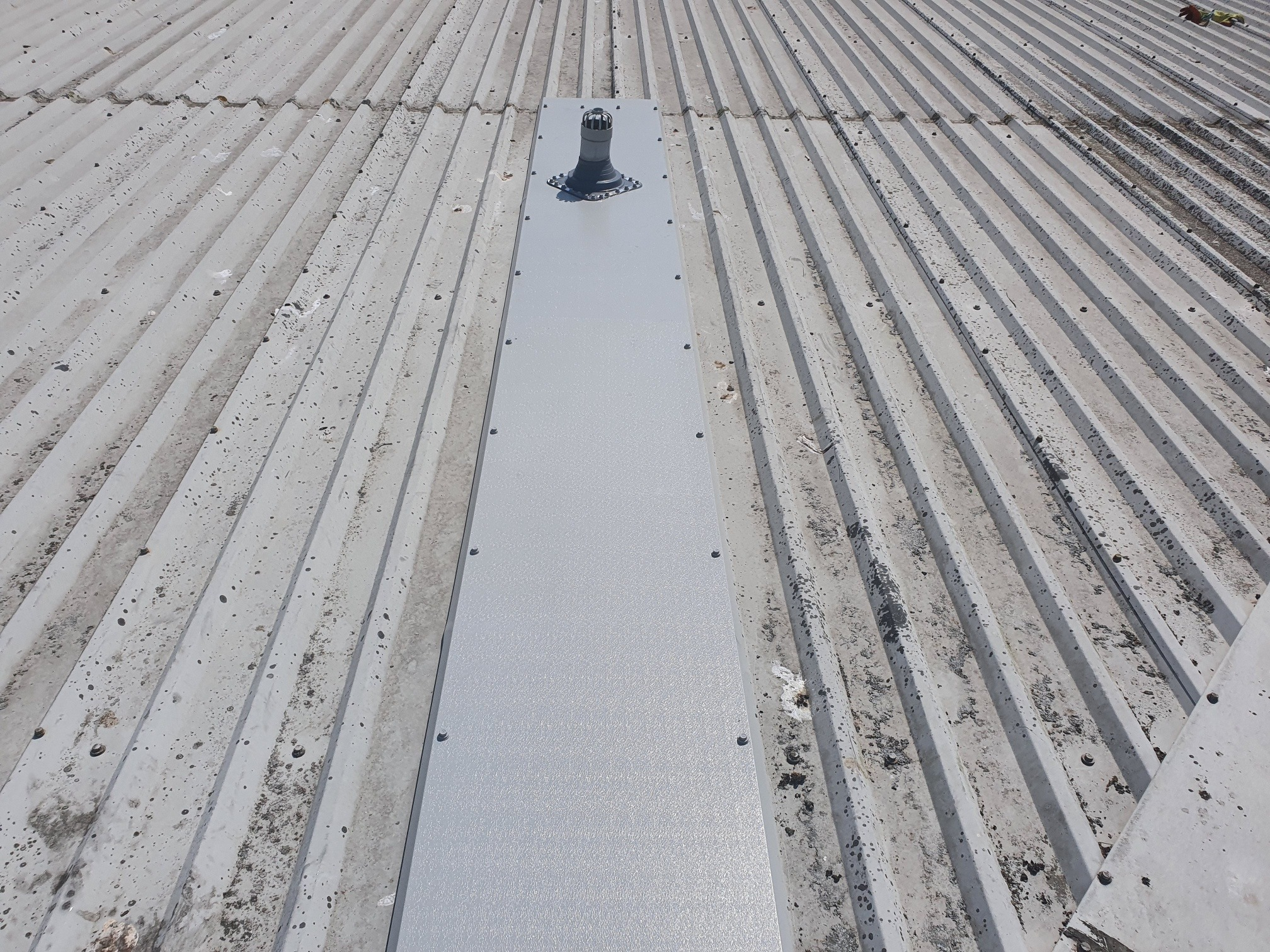 Roof Repairs to a Warehouse Roof in Littlehampton, West Sussex