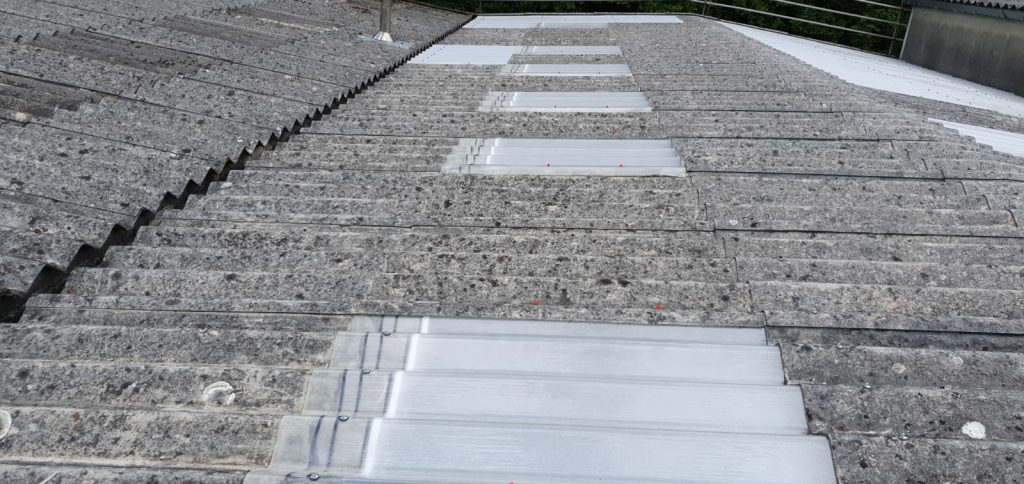 Gym roof in Pulborough, West Sussex