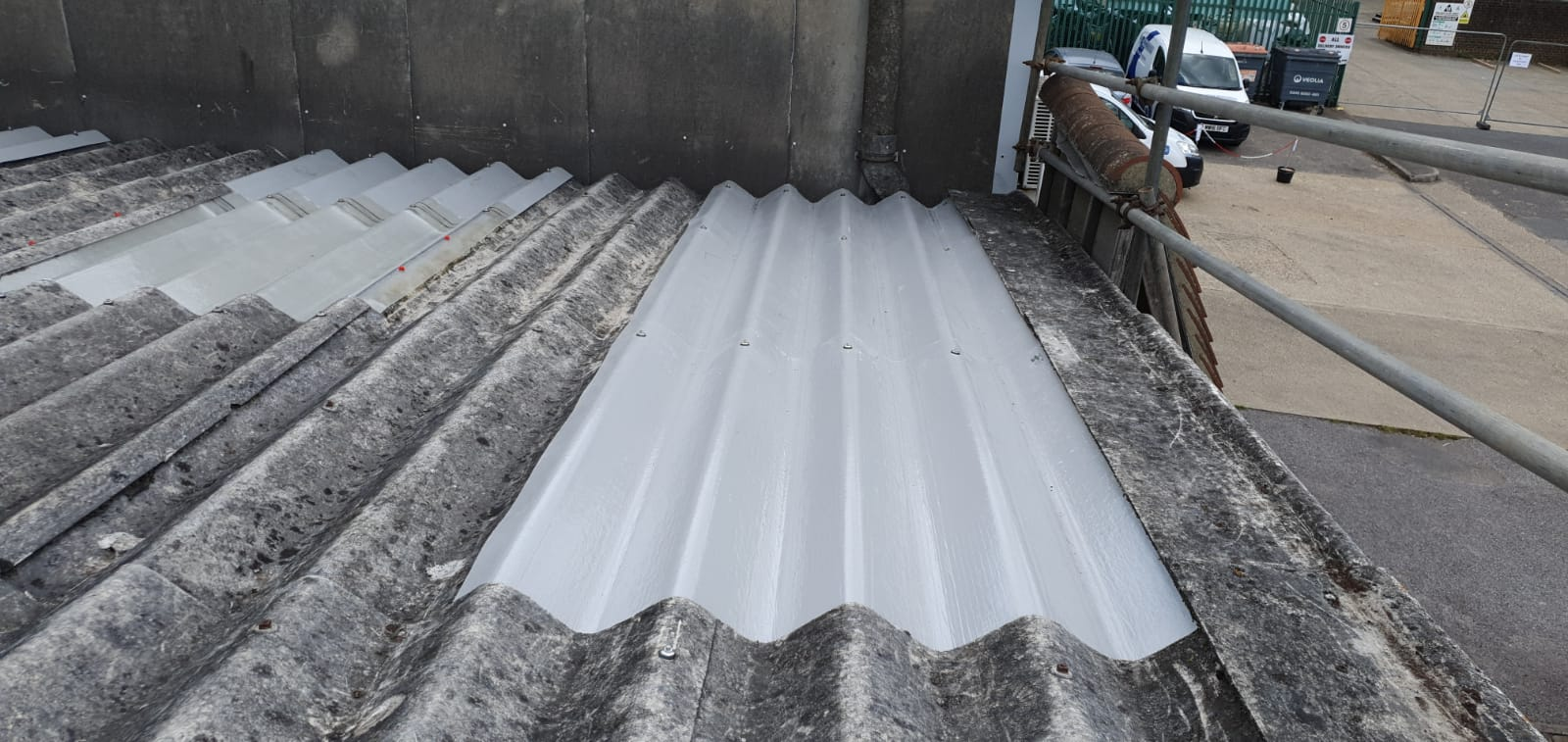 Gym roof repair in Pulborough, West Sussex