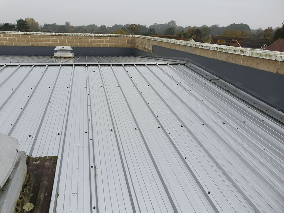 Westergate School roof repair in Chichester, West Sussex