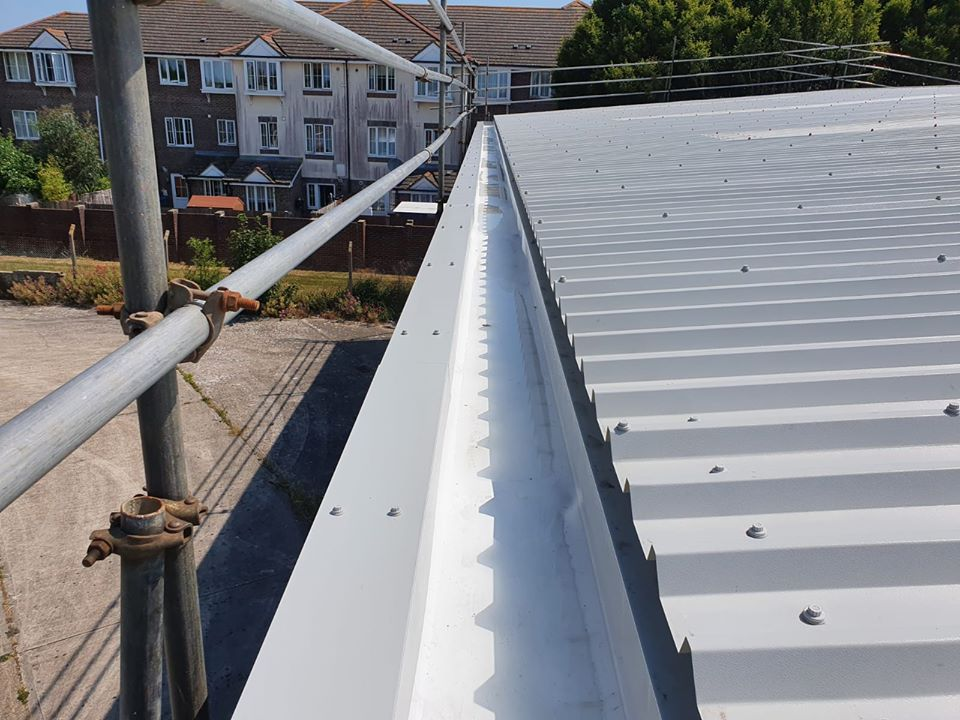Large Warehouse roof Over Roofing in Littlehampton, West Sussex