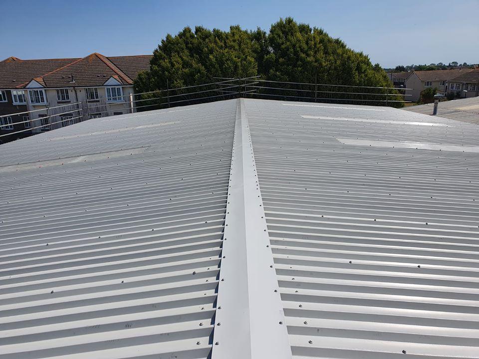Warehouse roof Over Roofing in Littlehampton, West Sussex
