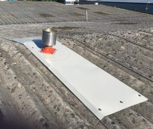 Roof Repairs to a Warehouse Roof in Redhill Surrey