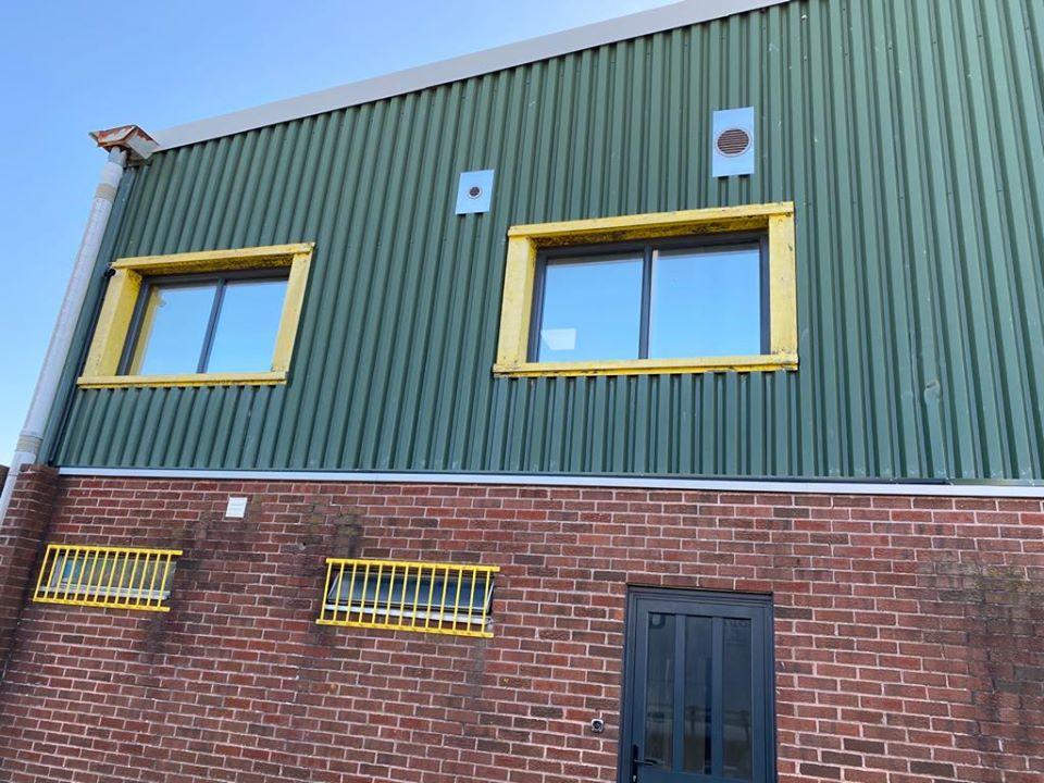 Warehouse Unit Cladding Repair in Littlehampton, West Sussex