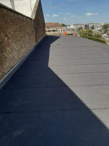 felting contract on an office roof in Basildon Essex