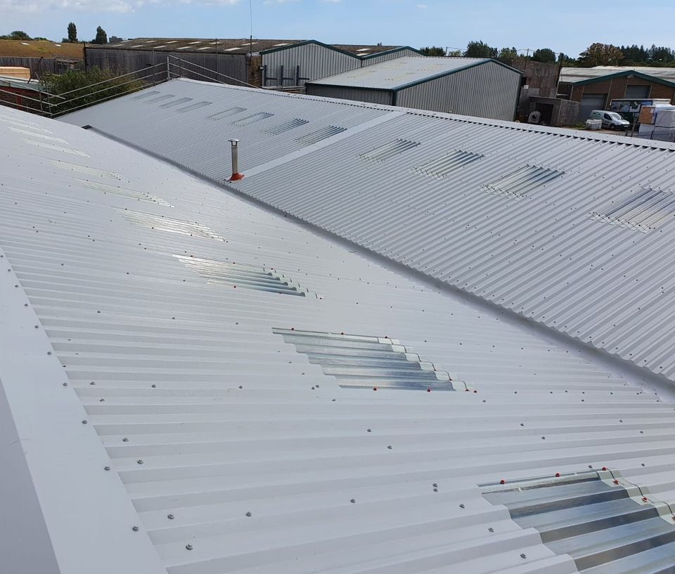Warehouse Over Roofing in, Chichester, West Sussex