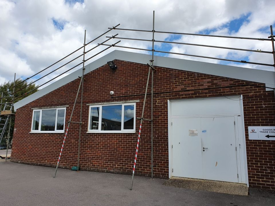 over-roofing to warehouse roof Chichester, West Sussex