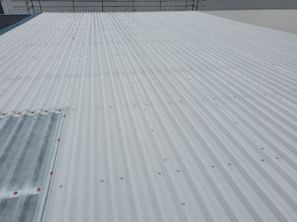 Over-roofing to an office roof in Worthing West Sussex