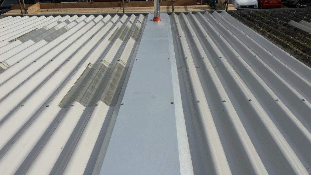 Roof overlay to a Unit in Hailsham West Sussex