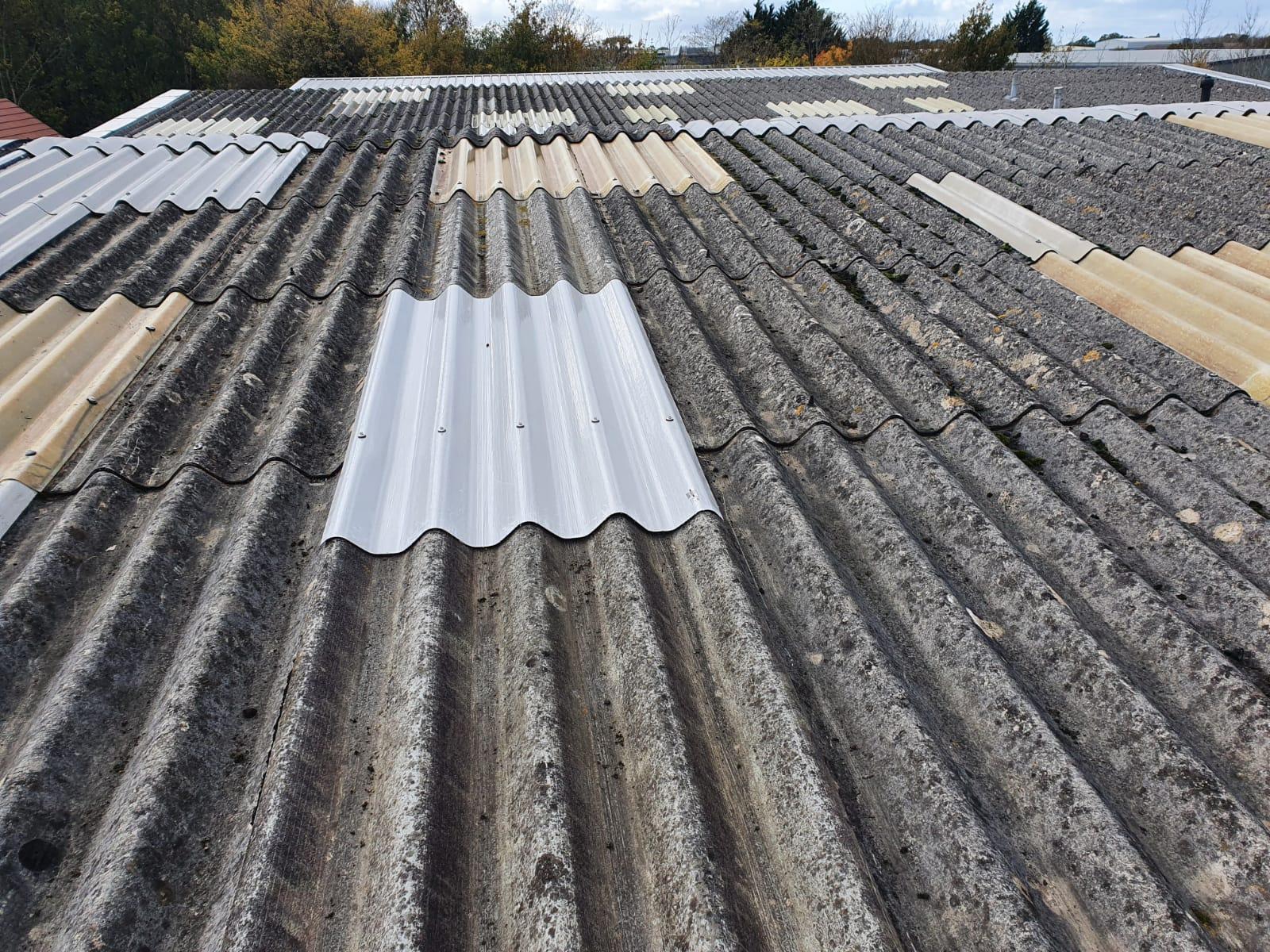 Factory roof repair work in Burgess Hill West Sussex