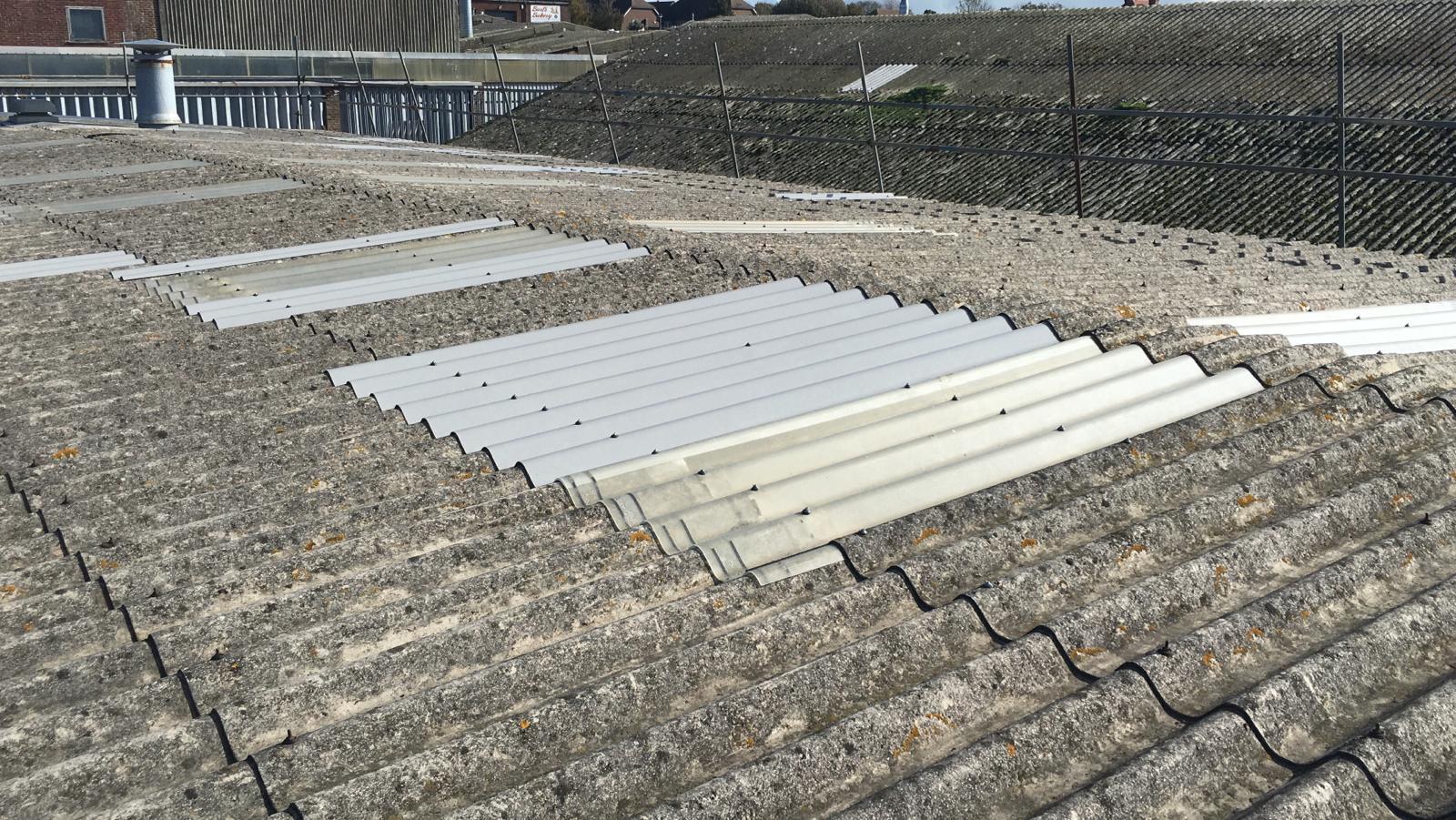 Leaking Roof in Workshop roof in Seaford East Sussex