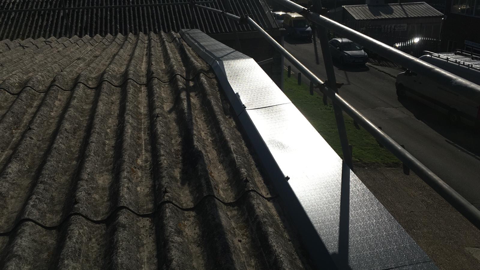 Leaking Workshop roof in Seaford East Sussex