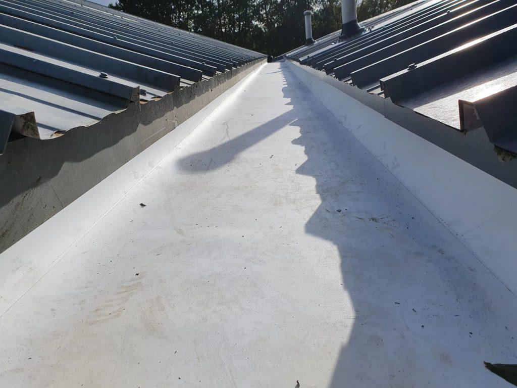 Repair work to an office roof in Bearstead, Maidstone Kent