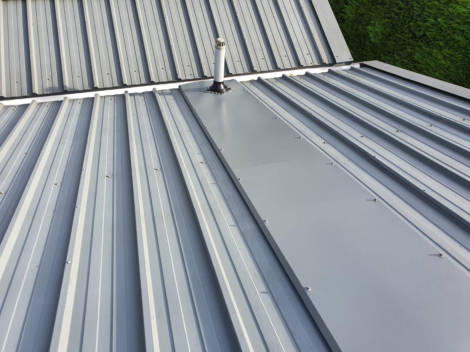 Roof repair work to an office roof in Bearstead Maidstone Kent