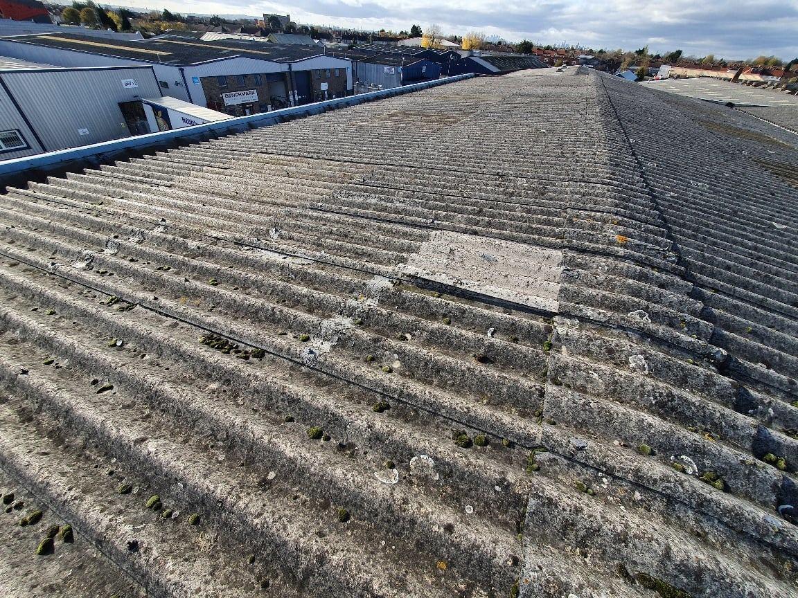 Roof Light Repair Office in Dagenham Essex