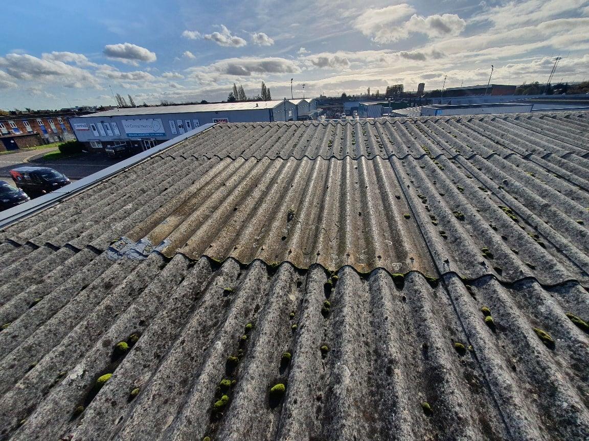 Warehouse roof light replacement in Dagenham Essex