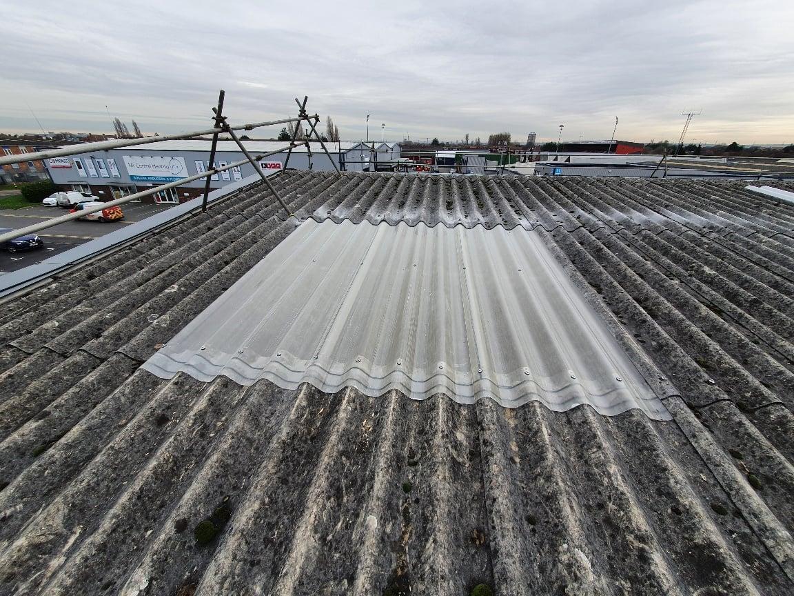 Warehouse roof repair in Dagenham Essex