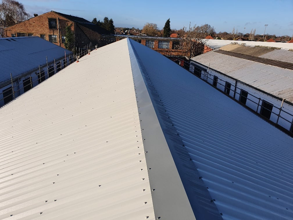 over-roofing to an old roof in Hersham Surrey