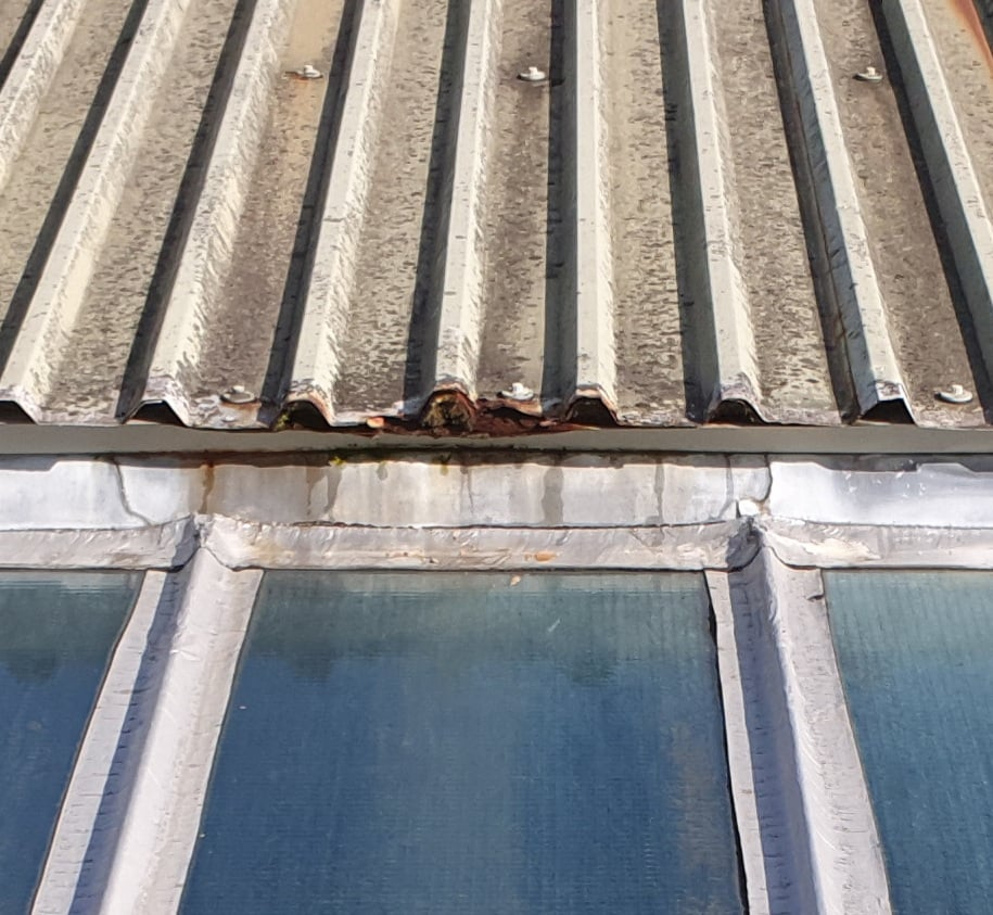 Roof Repairs to a Factory roof in Cranleigh Surrey