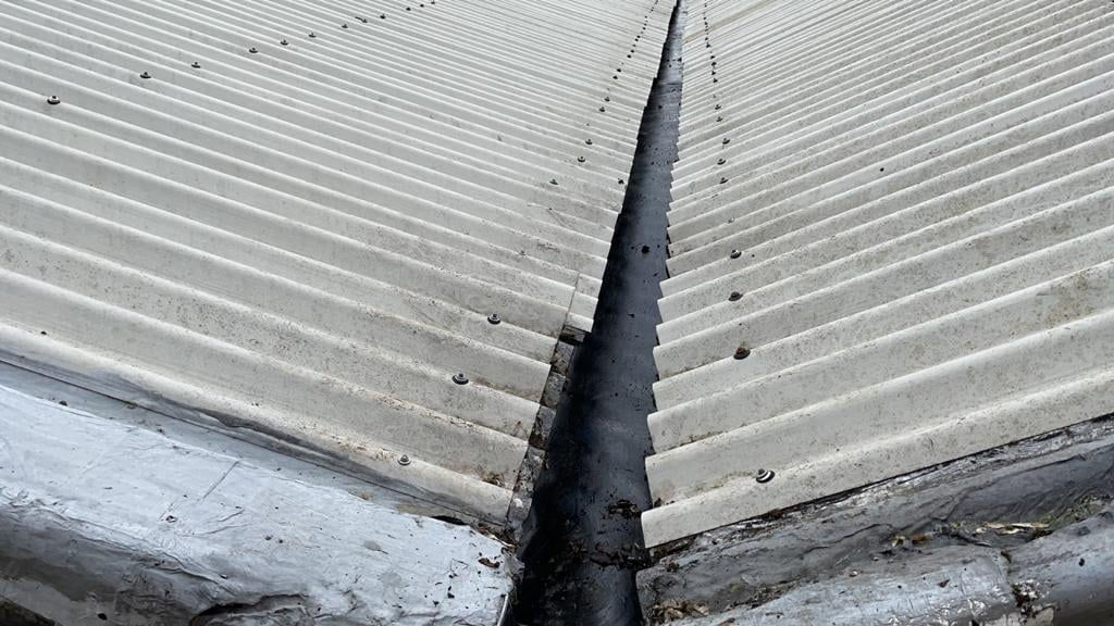 Leaking Roof Repairs to a Warehouse roof in Reigate Surrey
