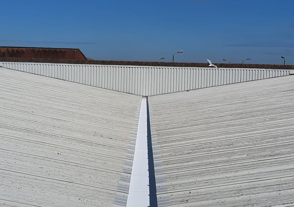 Gutter Lining Work to a Furniture Store and Showroomi in Hove West Sussex