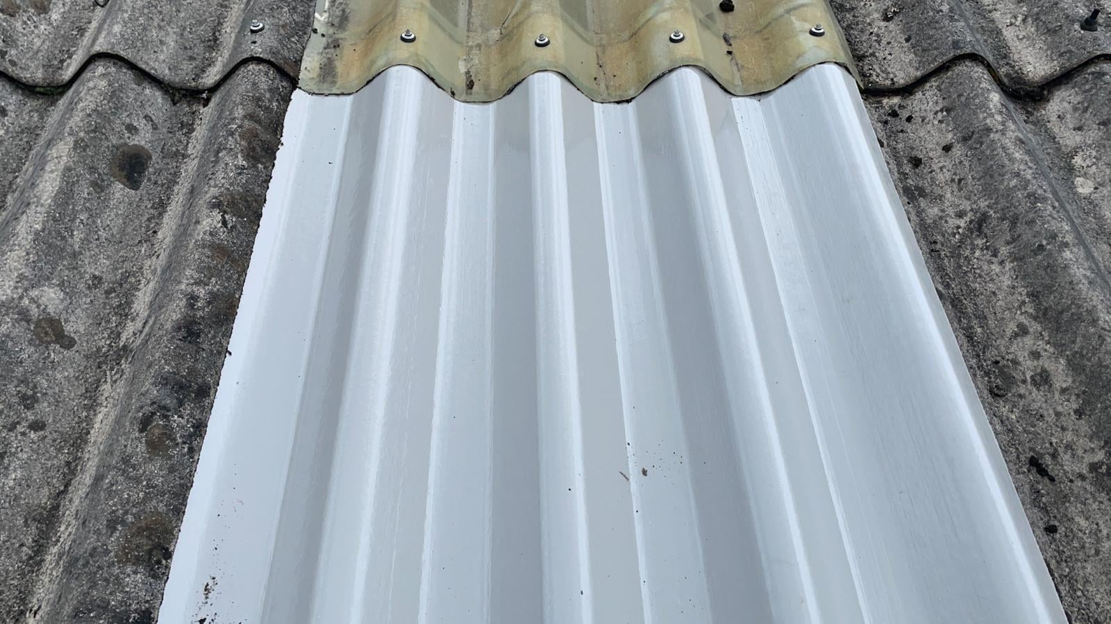 Repairs to a Warehouse roof in Crawley West Sussex