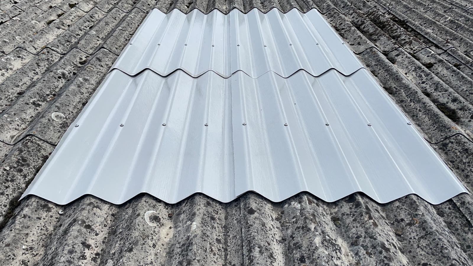 Roof repairs to a Factory - Warehouse roof in Weybridge Surrey