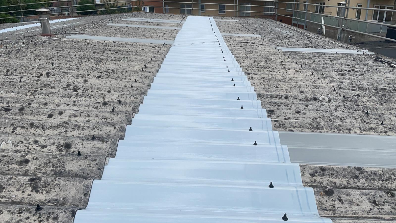 Rooflight replacement on a workshop roof in Crayford Kent
