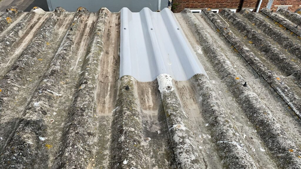 A contract on a warehouse roof in Littlehampton West Sussex