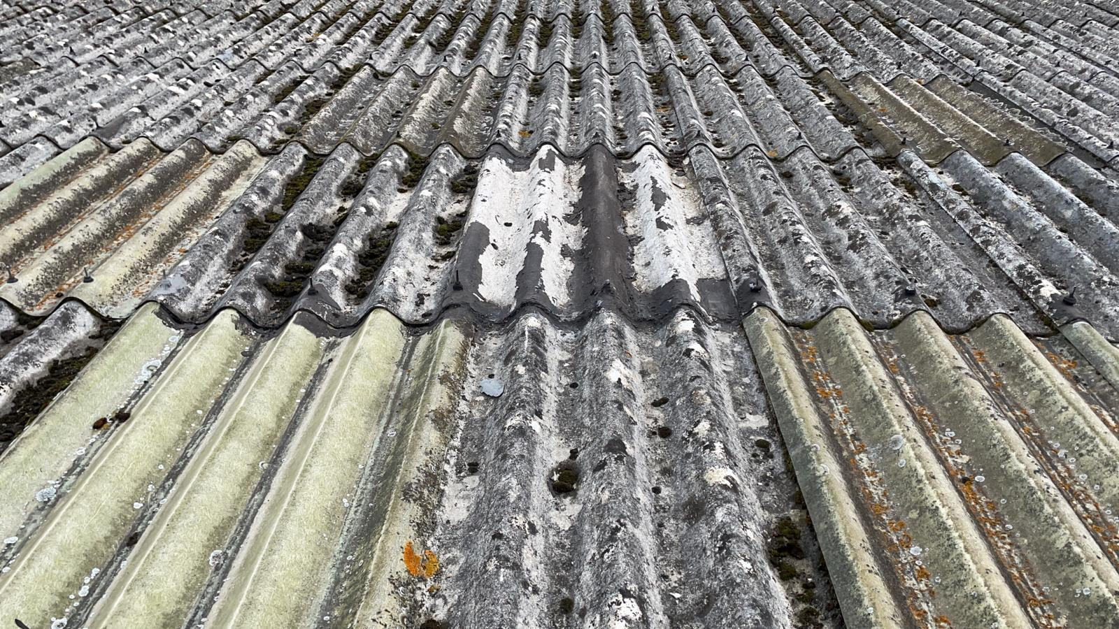roofing repairs to a warehouse roof in West Sussex